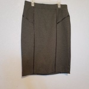Apt 9 textured moto pencil skirt!